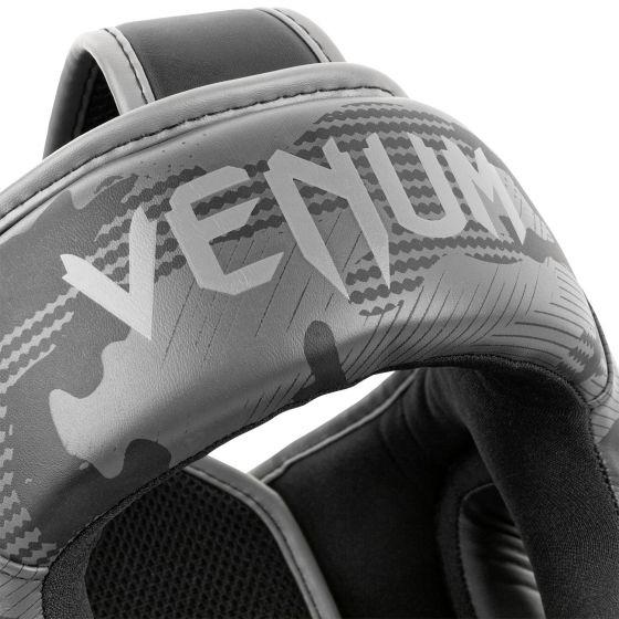 Venum Elite Boxing Headgear - Black/Dark camo