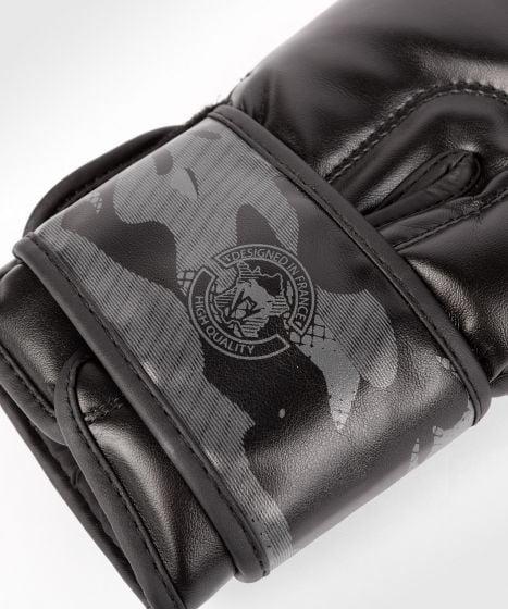 Guantoni da boxe Venum Defender - Nero/Nero