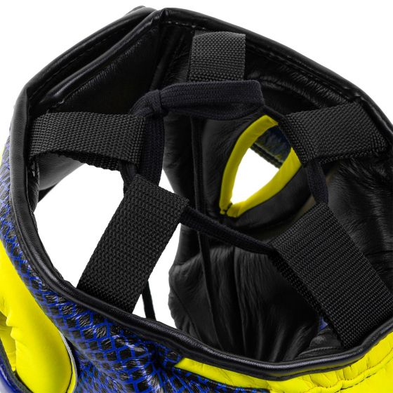 Venum Pro Boxing Headgear Loma Edition - Blue/Yellow