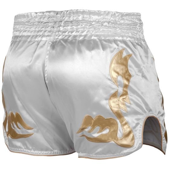 Venum Bangkok Inferno Muay Thai Shorts - Weiß/Gold