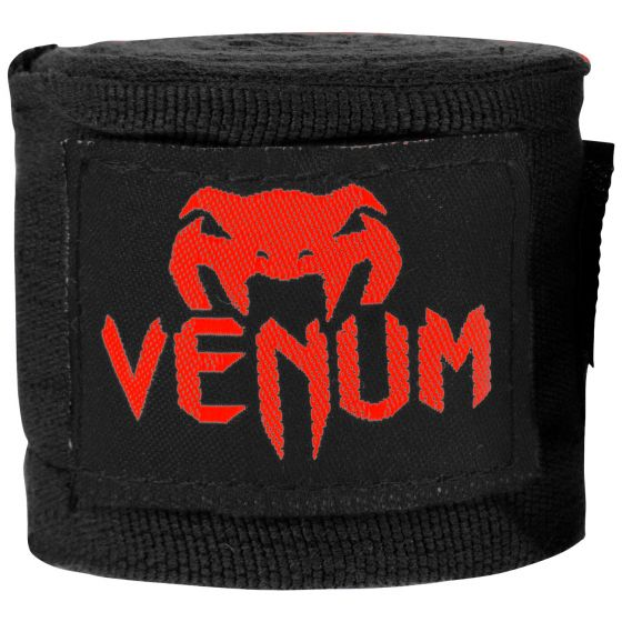Venum Kontact Boxing Handwraps - 4m - Black/Red