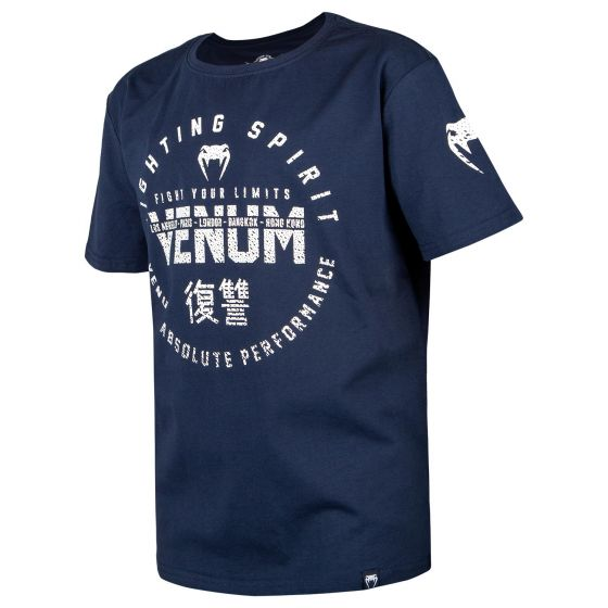 Venum Signature Kinder T-Shirt - Marineblau