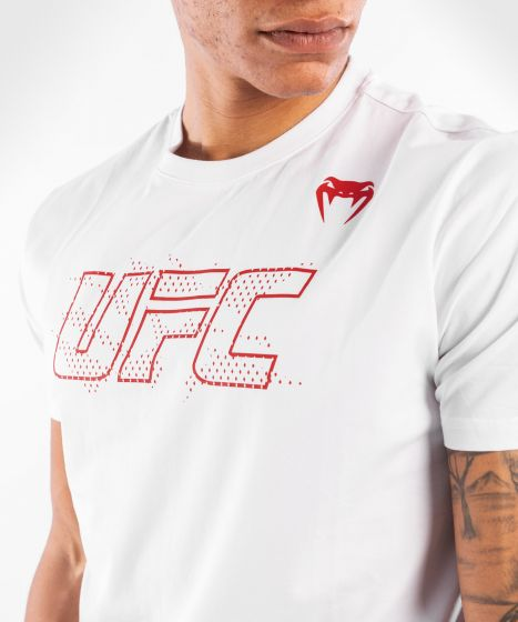 UFC Venum Authentic Fight Week 2 Men's Short Sleeve T-shirt - White