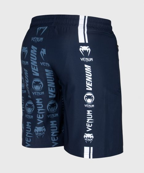 Venum Logos Training Shorts - Marineblauw/Wit