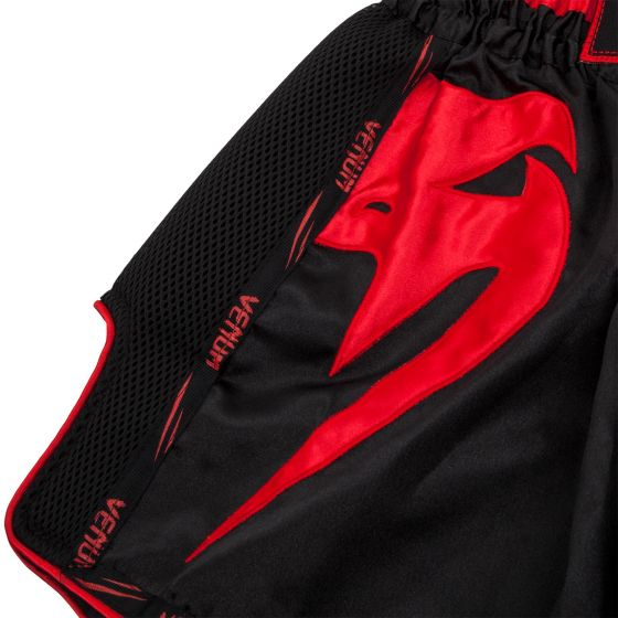 Short de Muay Thai Venum Giant - Noir/Rouge