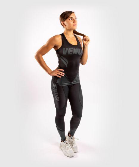 Camiseta sin mangas Dry-Tech ONE FC Impact - Mujer - Negro/Negro