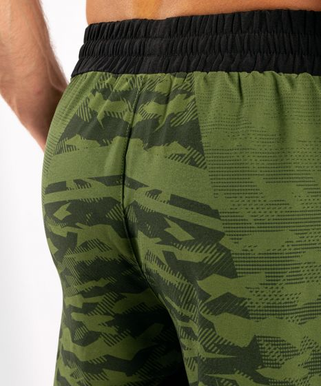 Short de sport Venum Trooper - Forest Camo/Noir