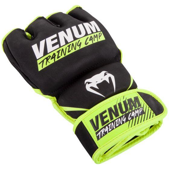 Guantes de MMA Venum Training Camp 2.0 - Negro/Neo Amarillo