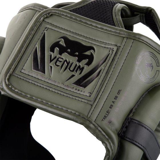 Venum Elite Kopfschutz-Khaki/Schwarz