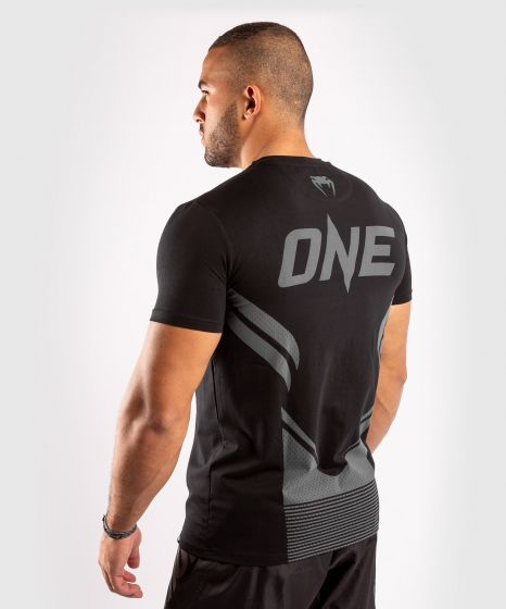 ONE FC Impact T-Shirt - Schwarz/Schwarz