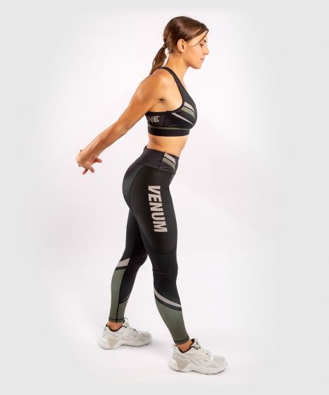 Leggings ONE FC Impact - Donna - Nero/Cachi