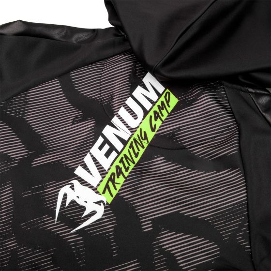 Sweatshirt Femme Venum Training Camp 2.0 - Noir/Jaune Fluo - Exclusivité