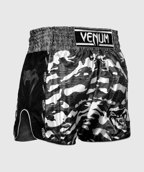 Pantalones cortos de Muay Thai Venum Full Cam - Camo Urbano/Negro