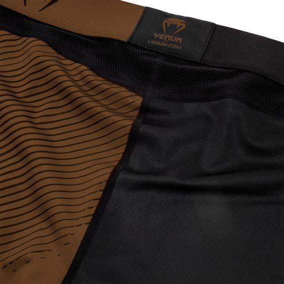 Pantalon de Compression Venum NoGi 2.0 Approuvé IBJJF - Noir/Marron