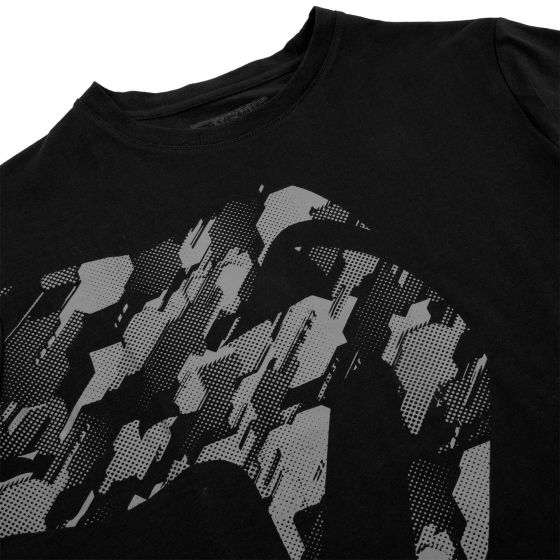 T-shirt Venum Giant Tecmo - Nera/Grigio