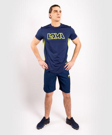 Venum Origins Dry Tech T-Shirt - Blau/Gelb