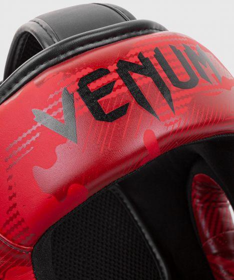 Casco da pugilato Venum Elite - Rosso camo