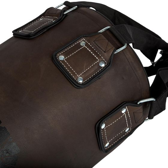Venum Vintage Heavy Bag - Brown - Filled - Cowhide Leather
