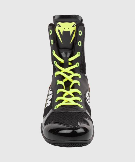 Venum Elite VTC 2 Edition Boxing Shoes - Black/Neo Yellow