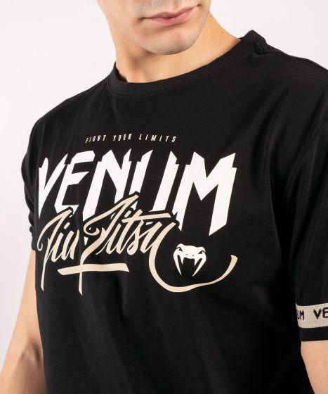 Camiseta Venum BJJ Classic 20 Negra / Arena