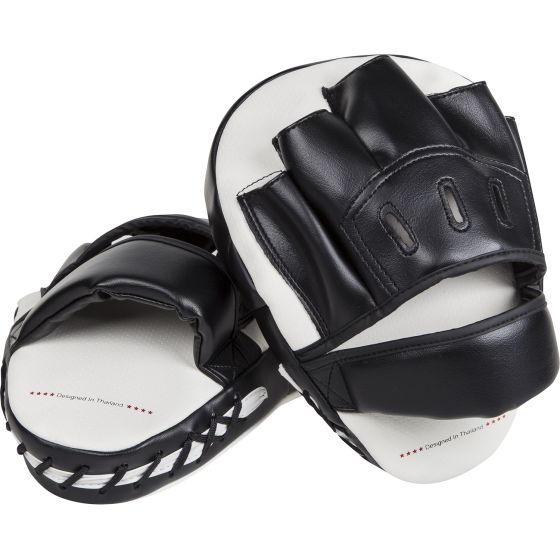 Venum Light Focus Mitts - ice/Zwart (paar)