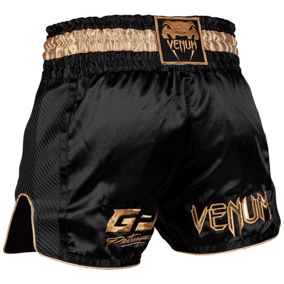 Pantalones cortos de Muay Thai Venum Petrosyan - Negro / Dorado
