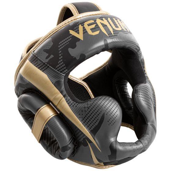 Venum Elite Bokshelm - Donkercamouflage/Goud