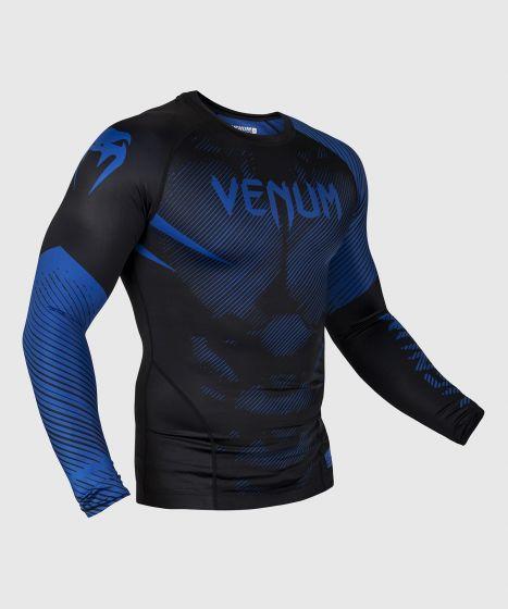 Rashguard Venum NoGi 2.0 - Maniche lunghe - Nera/Blu