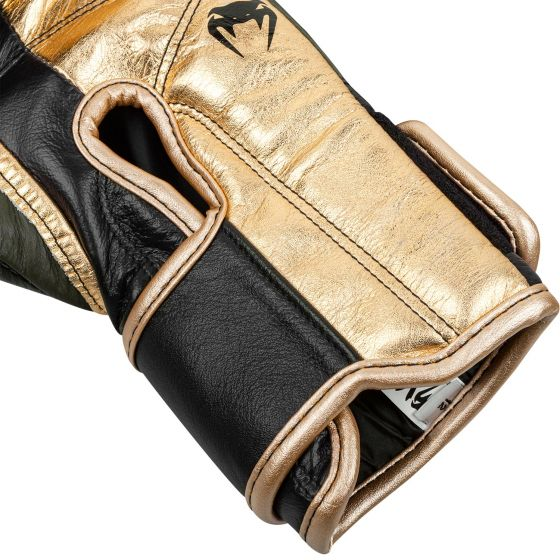 Venum Giant 2.0 Pro Boxing Gloves Linares Edition - Velcro - Khaki/Black/Gold