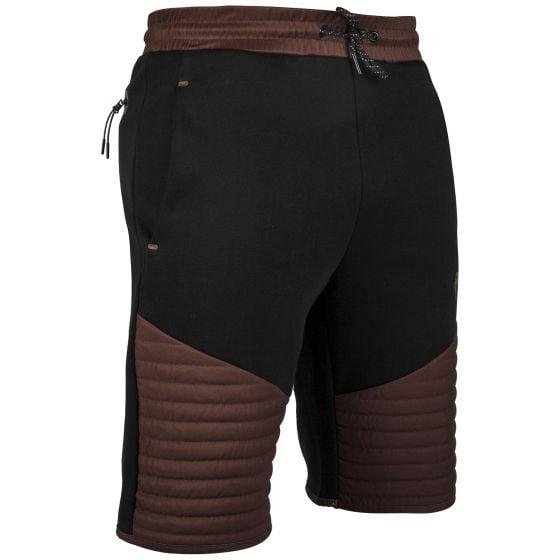 Pantaloncini in cotone Venum Laser - Nero/Marrone