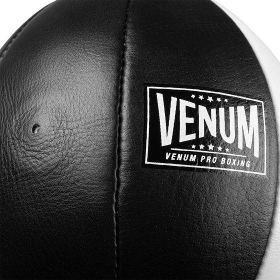 Venum Hurricane double ended oval bag - Black/White