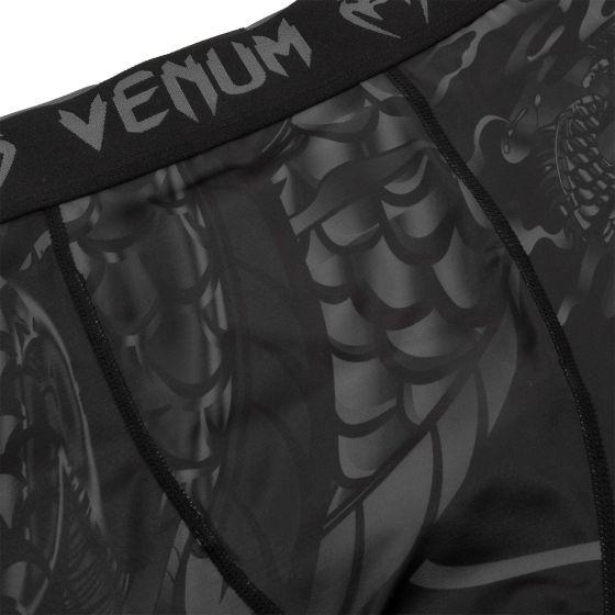 Pantaloncini a compressione Venum Dragon's Flight - Nero/Nero