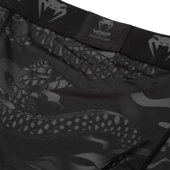 Venum Dragon's Flight Comppression Shorts - Black/Black