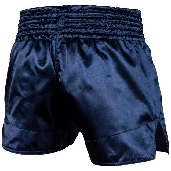 Short de Muay Thai Venum Classic - Bleu marine/Blanc