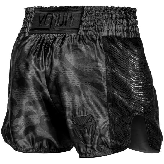 Pantaloncini da Muay Thai Venum Full Cam - Camo urban/Nero/Nero