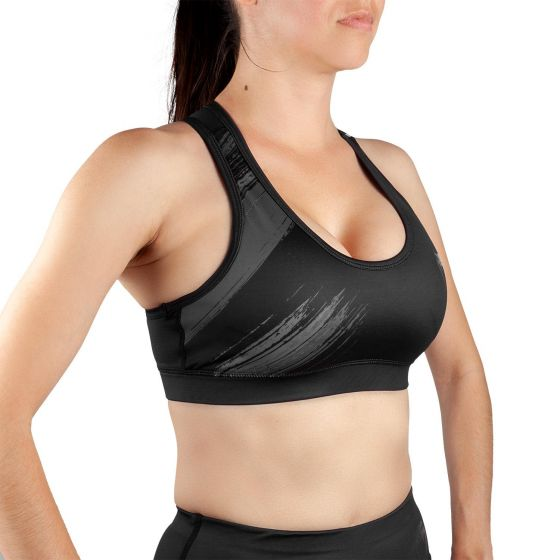 Venum Rapid 2.0 Sport Bra - For Women - Black/Black