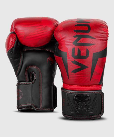 Venum Elite Boxing Gloves - Red Camo