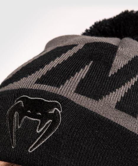 Bonnet Venum Elite avec pompon - Gris/Noir