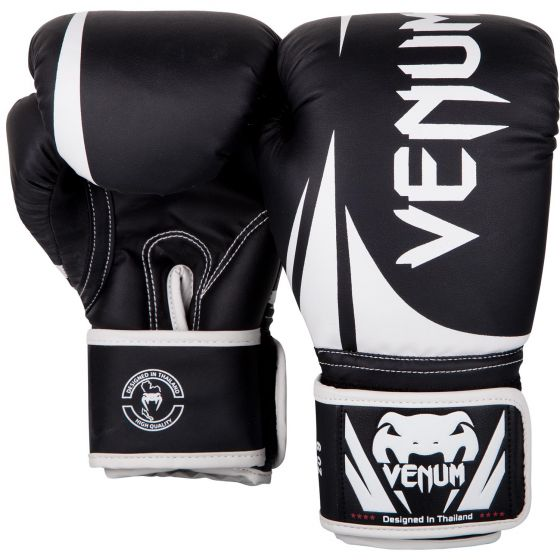 Venum Challenger 2.0 Kids Boxing Gloves - Black/White