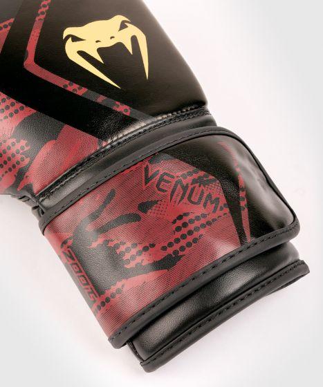 Guantes de boxeo Contender 2.0 Venum Defender - Negro/Rojo