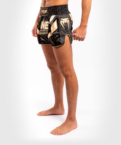 Venum x ONE FC Muay Thai Shorts - Black/Gold