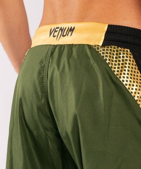 Venum x ONE FC Kampfshorts - Khaki/Gold