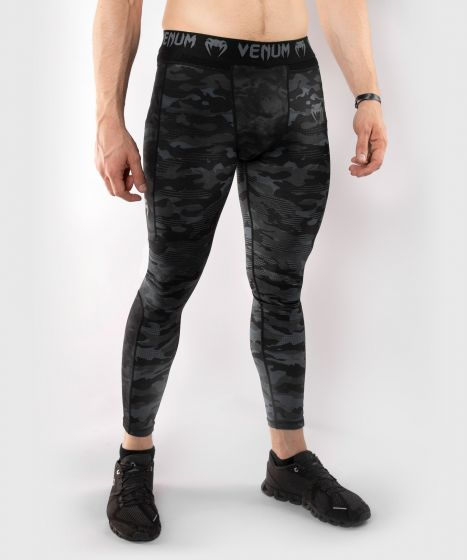 Pantalon de Compression Venum Defender - Dark Camo