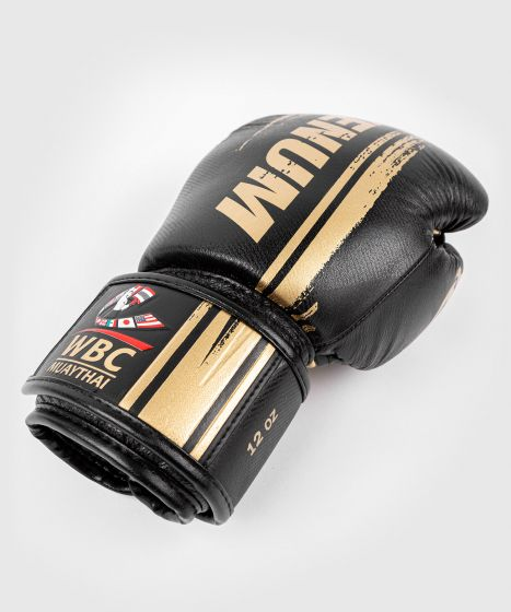 Venum WBC Boxhandschuhe - Schwarz/Grün