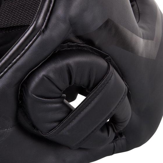 Venum Elite Iron Headgear - Black/Black