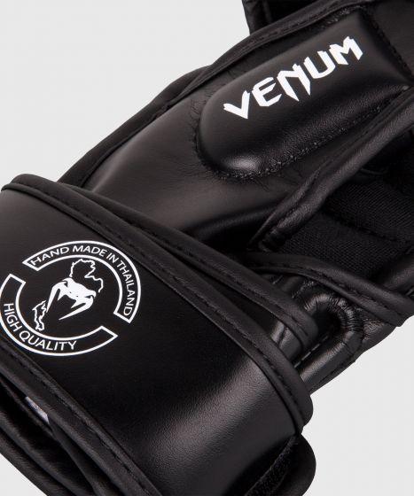 Guantes de Enfrentamiento MMA Venum Impact  - Negro/Blanco