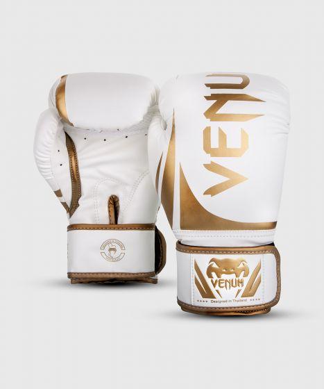 Gants de boxe Venum Challenger 2.0 - Blanc/Or
