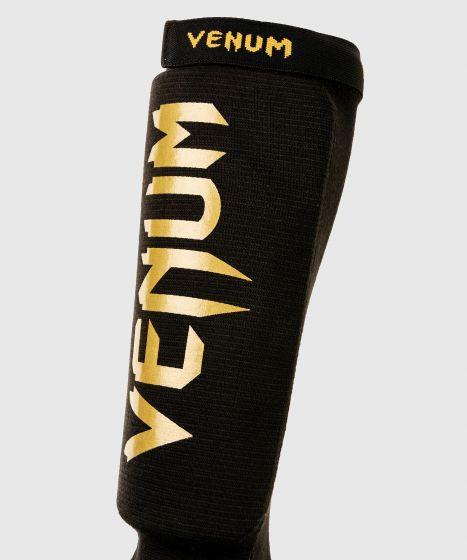 Venum Kontact Shin Guards - Black/Gold