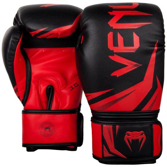 Venum Challenger 3.0 Bokshandschoenen - Zwart/Rood