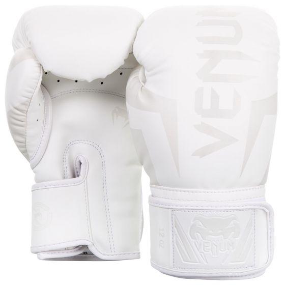 Gants de Boxe Venum Elite - Blanc/Blanc